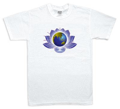Koszulka - Ziemia, Kwiat
