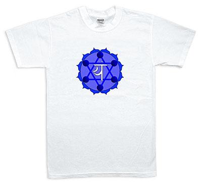 Koszulka - Anahata, niebieska