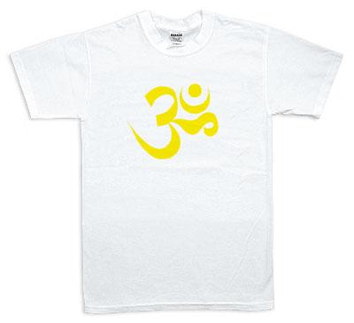 Koszulka - Omkaram, żółta