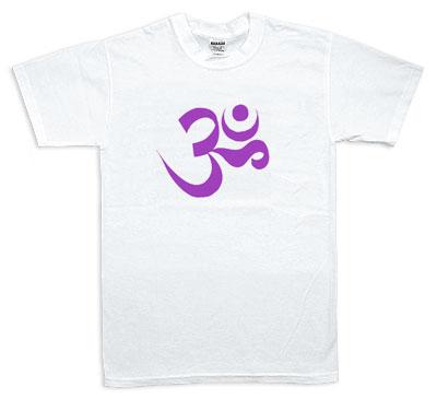 Koszulka - Omkaram, fioletowa