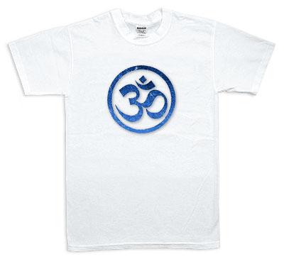 Koszulka - Omkaram, niebieska